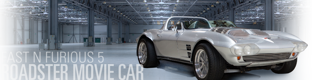 Fast Five Movie Car - Silver Roadster - Mongoose Motorsports