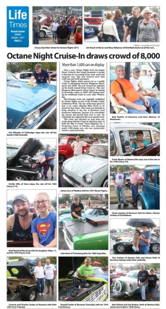 Octane Nights In Record Courier October 1 2017